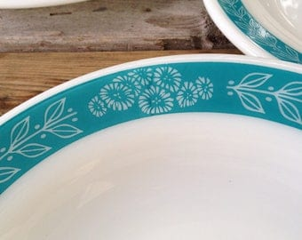 Pyrex Bluegrass Dishes Restaurant Ware or Special Advertising Tableware