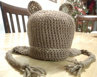 Infant Bear Hat - Ready to Ship