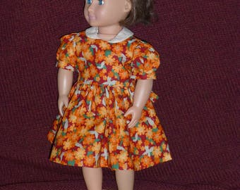 """18"""" Doll Dresses: 1940's Style #4 (2 Options)"""
