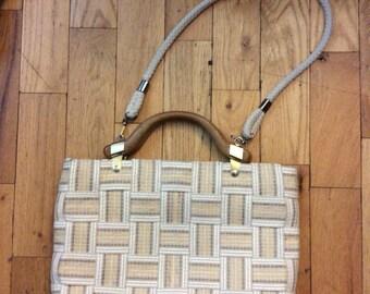patterned handbag