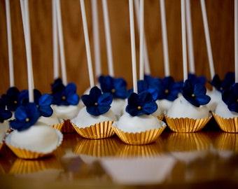 30 Fondant Flowers for Cakepops /Cupcakes/Cake decorating
