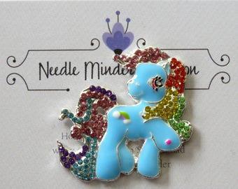 Rainbow Pony Needle Minder