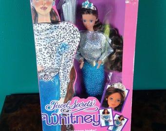 Mattel 1986 Jewel Secret Whitney- Vintage Mattel Barbie Doll