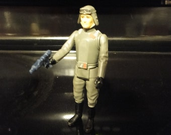 Vintage 1980 Kenner Star Wars Action Figure At-At Commander / General Veers
