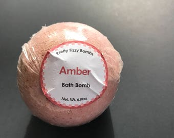 Amber Bath Bomb - Bath Fizzy