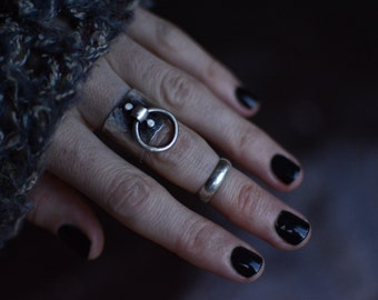 Shackle Ring | Made to Order | sterling silver