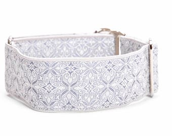 Martingale collar, 1,5 inch, dog martingale collar,gray,whippet,galgo, greyhound collar, martingale collar,collars,dogs collars,martingales