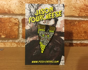 Jason Fourcheese Soft Enamel Pin
