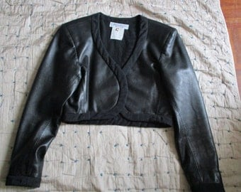 Lamb Yves Saint Laurent Rive Gauche jacket