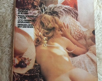 Vintage penthouse magazine January 1973