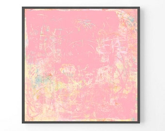 Large Abstract Painting, print from Original Painting, Modern Large Print, Pastel Print, Pastel Abstract Art, Abstract Pastel Decor