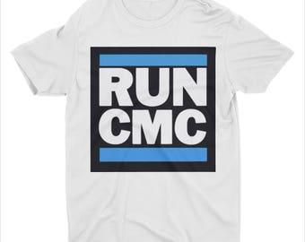 Carolina Panthers shirt ~ Christian McCaffrey is gonna be a Panther ~ RUN CMC