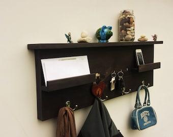 entryway organizer coat rack entryway coat rack mail organizer coat hooks