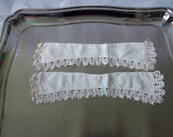 Vintage Lace collars for a doll or child  clothes embellishment French vintage French décor- col dentelle
