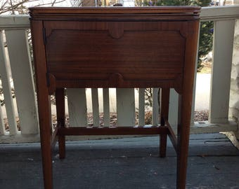 SALE!  Vintage Free Westinghouse Sewing Machine in Beautiful Walnut Cabinet