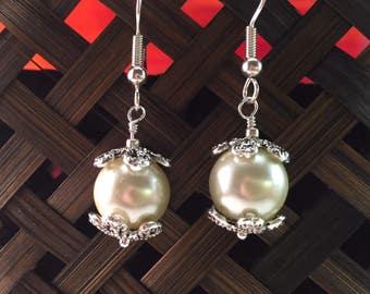 Pearl Earrings ( Item 206)