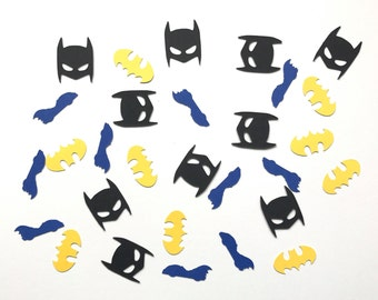 Batman Confetti / Batman Birthday Party / Batman Decor - Created by Confetti Betti