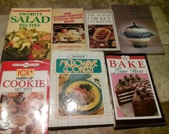 Vintage Recipe Books
