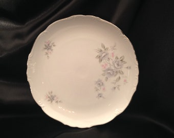 """12"""" Chop Plate/Round Platter in El Patio by Empress (Japan)/Empress China/Empress China El Patio Pattern/Empress China El Patio 1847/1847"""