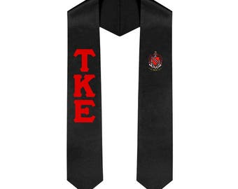 Tau Kappa Epsilon Fraternity Graduation Stole Graduation