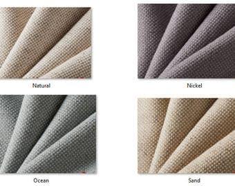 LINEN BLEND: Upholstery Linen Fabrics by the yard