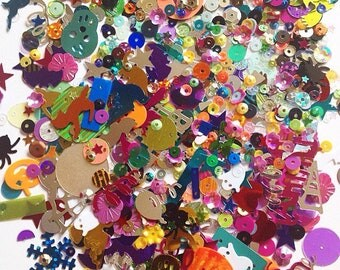 10g Mixed Sequins Selection