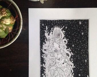 The Empress Tarot - Print