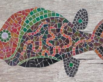 Mosaic fish #7