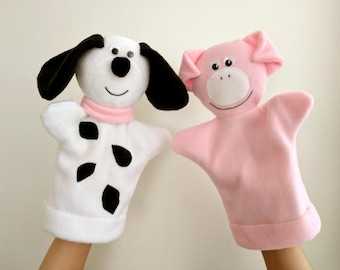 Hand Puppets - Animal Puppets - Soft Toys