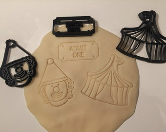 Circus Cookie Cutter Set