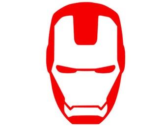 Iron On Ironman Avengers logo