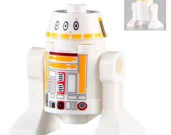 R5-F7 Star Wars Custom Minifigure 100% Lego Compatible!