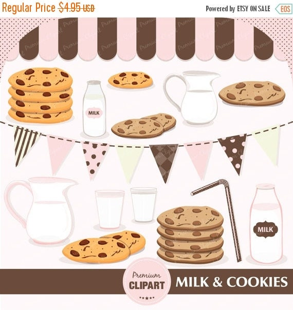 milk and cookies clipart party clipart birthday clipart baby shower