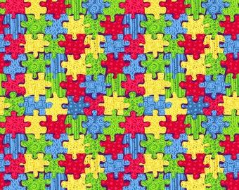 Oracal 651 Pattern Vinyl - Autism Awareness