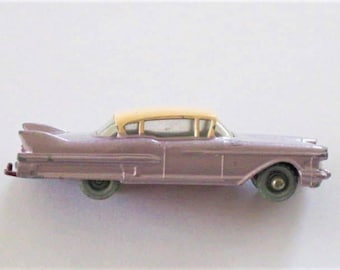 Pink Cadillac Car 1960s Special by Lesney #27