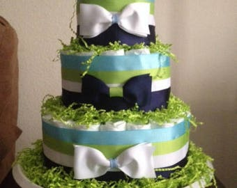 "It's a ""Little Man"" Diaper Cake"