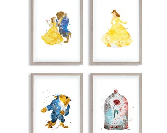 Beauty and the Best Watercolour Prints