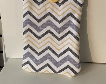 IPad mini sleeve, kindle sleeve, iPad mini case, padded case, padded kindle case, handmade case, sleeve, case