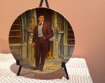 Gone With the Wind Rhett Butler Collectible Plate