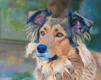 "Bessie - original oil painting 12""x16"""