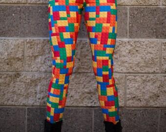 LEGO Leggings (size Medium)