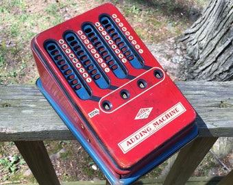 Vintage '40s Wolverine Toy Adding Machine