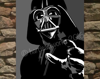 Darth Vader / Star Wars Art Print