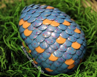 Dusty Blue Speckled Egg