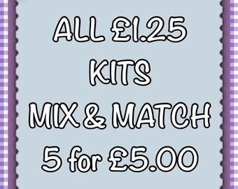 Mix & Match Any 5 Xmas Kits