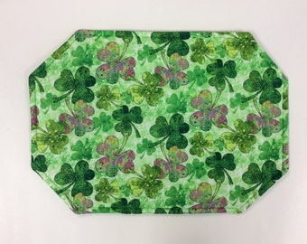 St. Patrick's Day Reversible Placemats/Set of 4 or 6