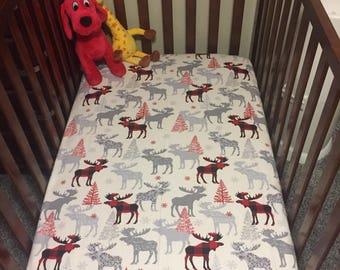 Custom Fitted Crib Sheet