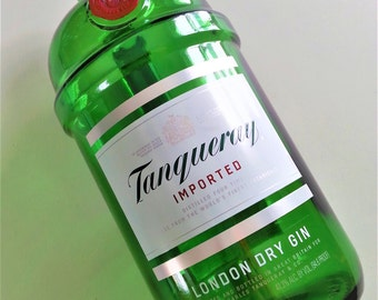 Tanqueray Gin ~ Empty 1.75 L Bottle