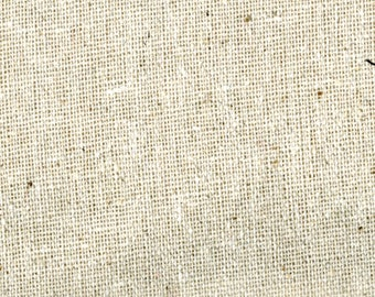 Natural Cotton Osnaburg by Fabri-Quilt