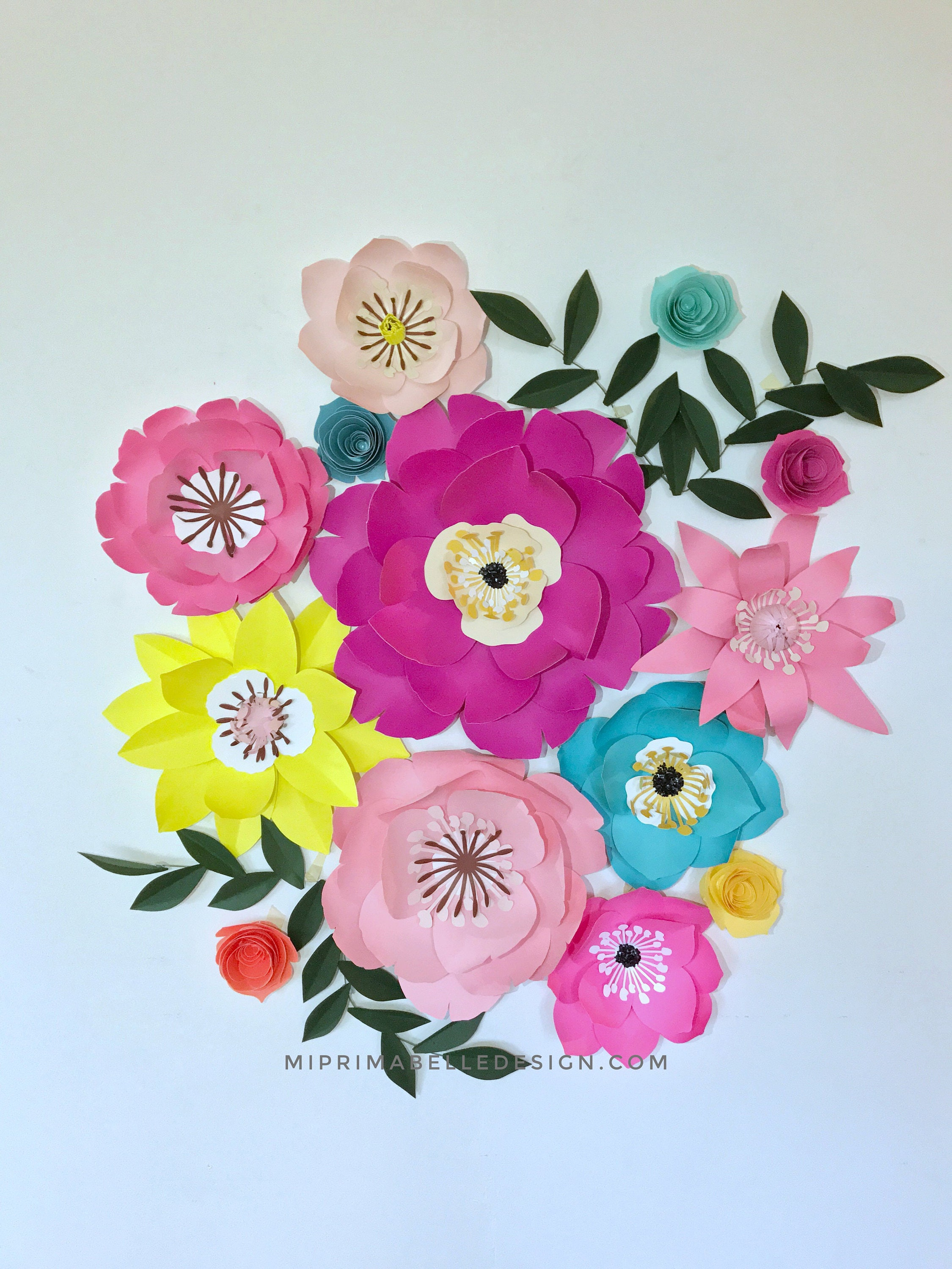 Robin egg blue paper flowers wall decor baby girl nursery bedroom robin egg blue paper flowers wall decor baby girl nursery bedroom accent pink paper flowers backdrop first birthday party photo shoot props amipublicfo Choice Image